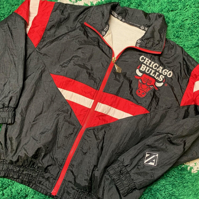 Chicago Bulls Team Athletics Jacket Size Women's Small