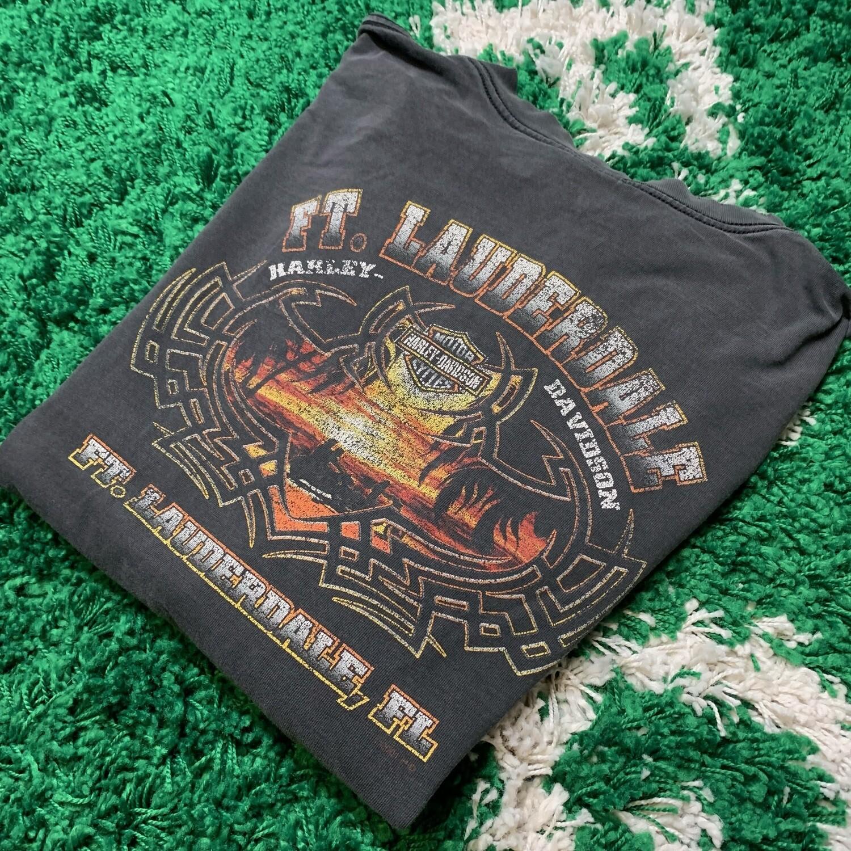 Harley-Davidson Ft. Lauderdale Long Sleeve Black Size XL