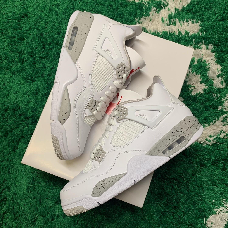 Jordan 4 Retro White Oreo (2021) Size 10