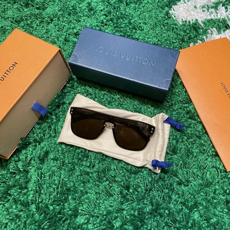 Louis Vuitton Waimea Sunglasses Brown Size W