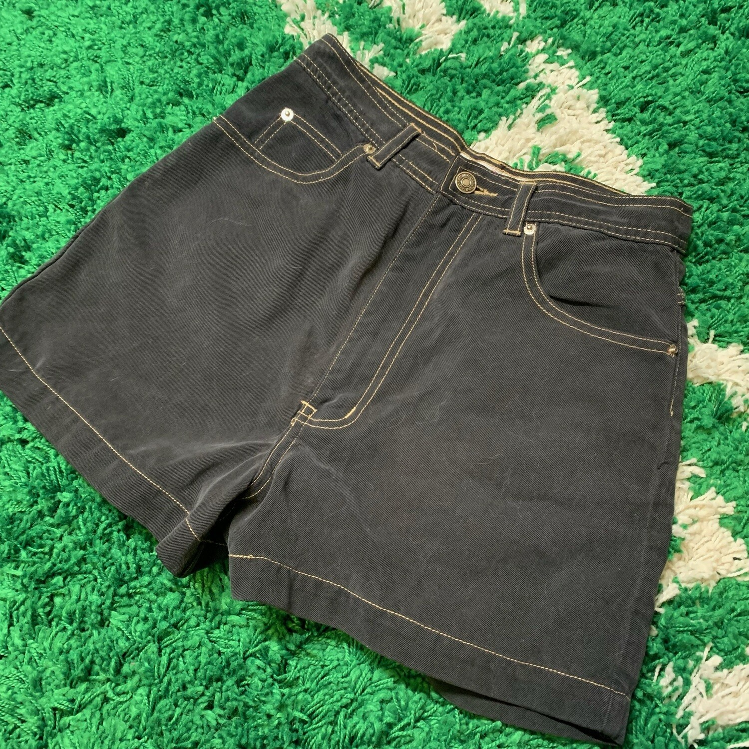 French Star Jean Shorts Size 26
