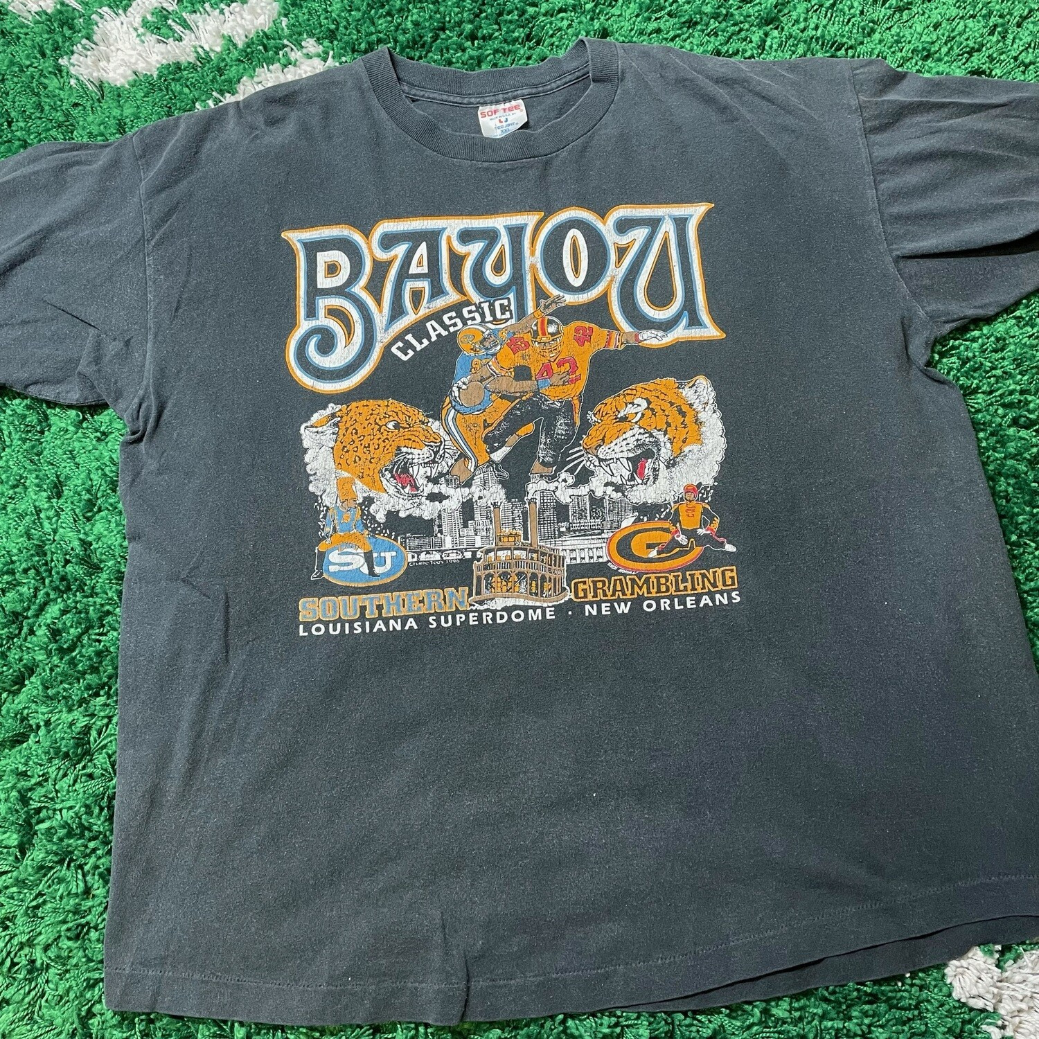 Bayou Classic Battle of New Orleans Tee Size XXL