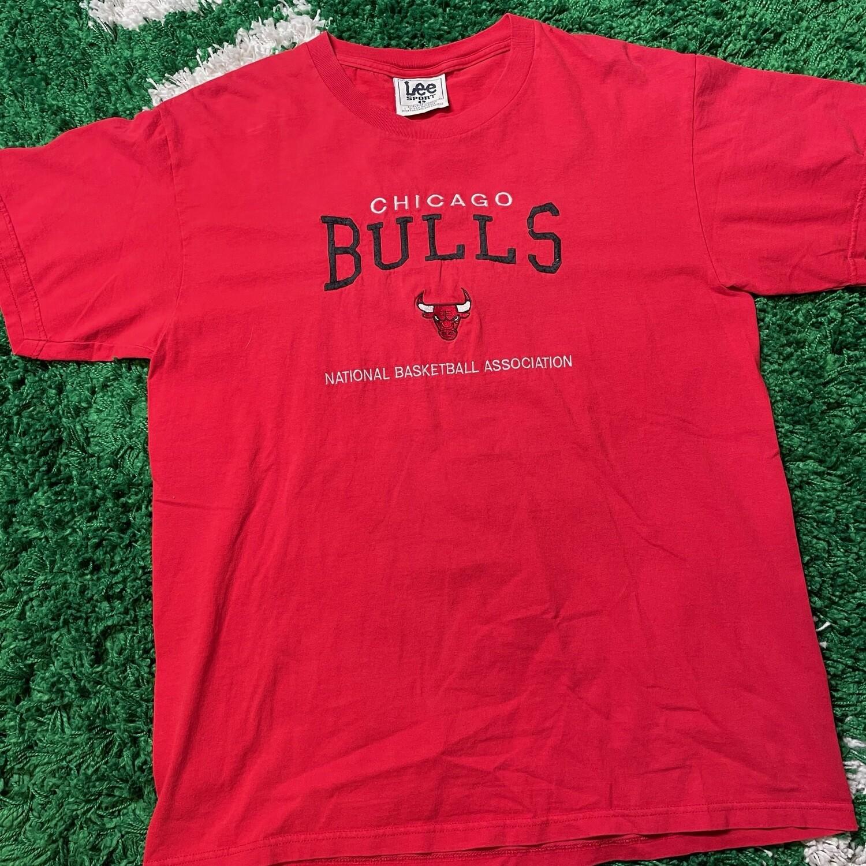 Chicago Bulls National Basketball Association Stitched Tee Size Large