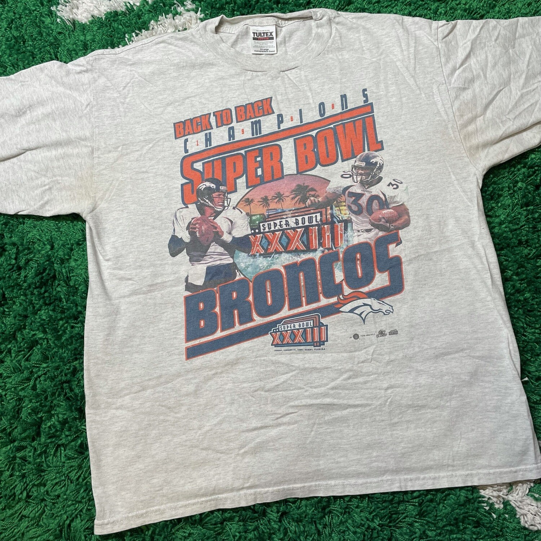 Denver Broncos Back to Back Champions Size XL
