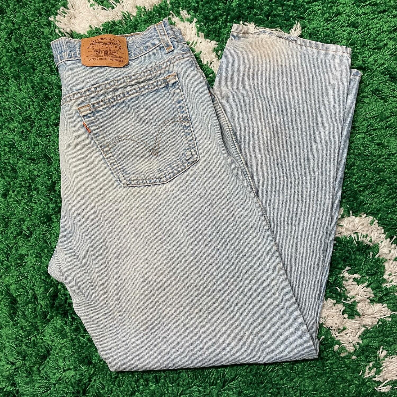 Levi's Orange Tab Jeans Size 33