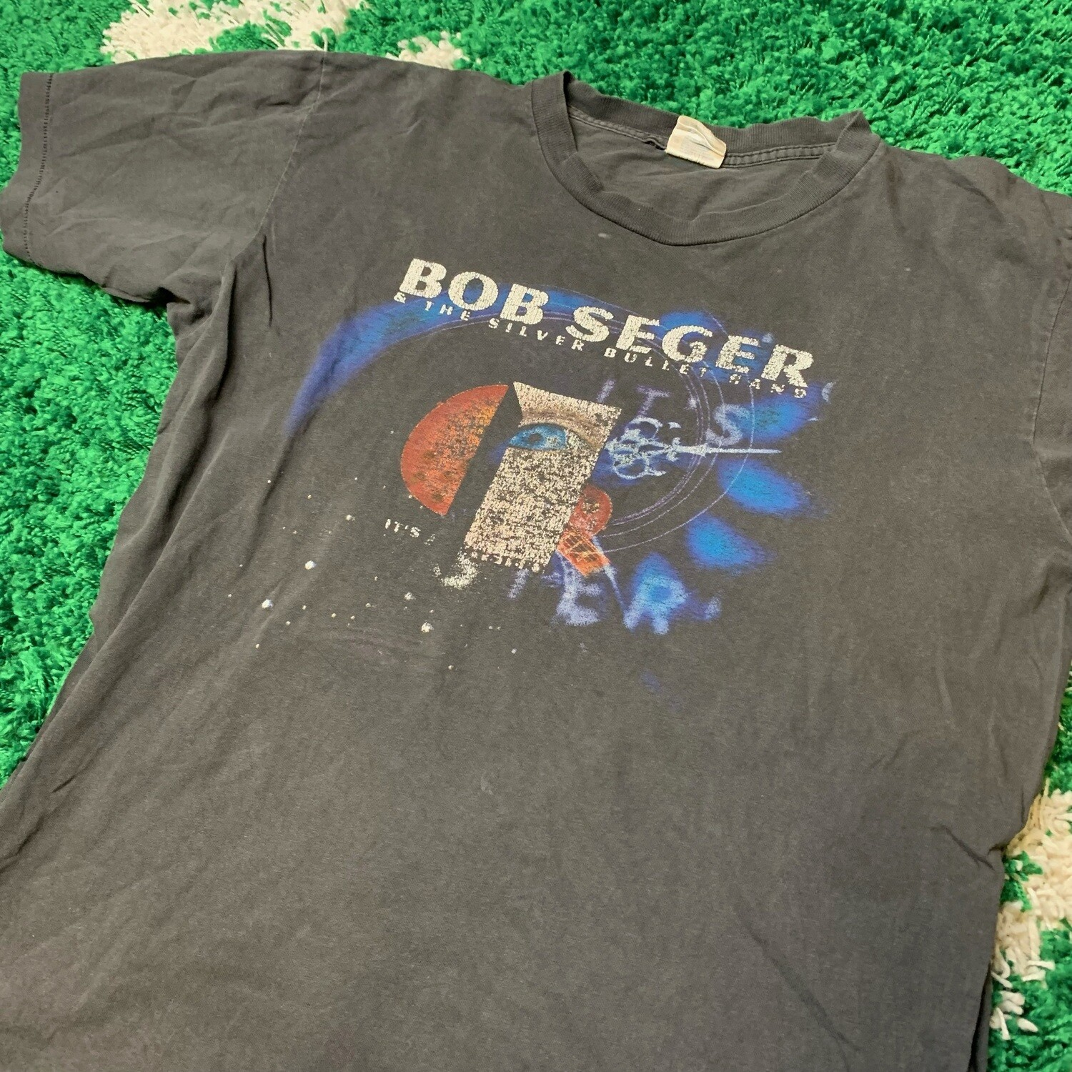 Bob Seger & The Silver Bullet Band Size Large