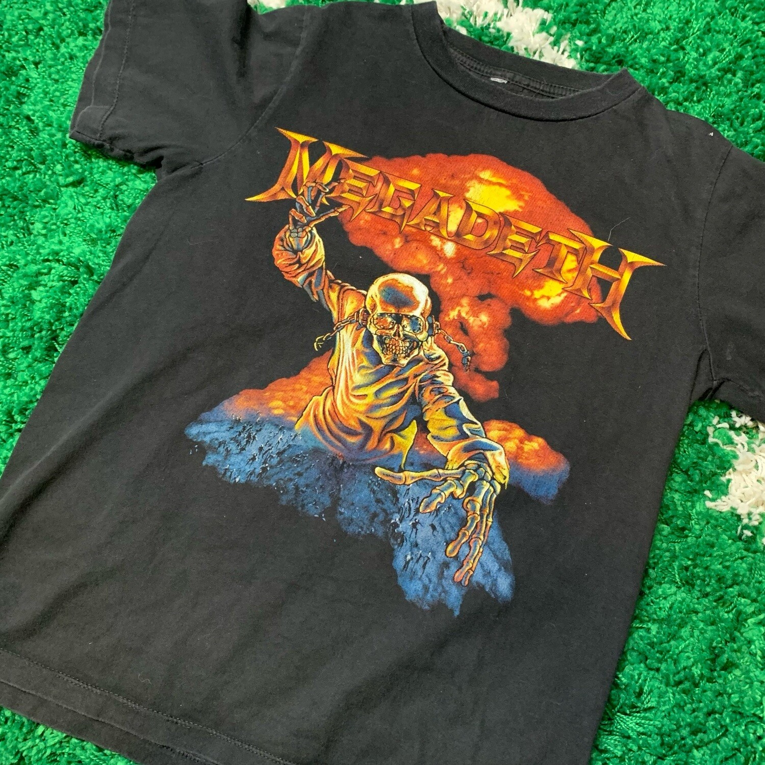 Megadeath Double Sided Tee Size Small