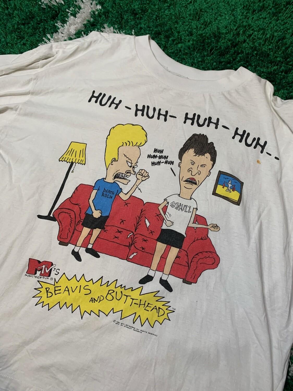 Beavis and Butt-Head 1994 MTV Tee Size XL