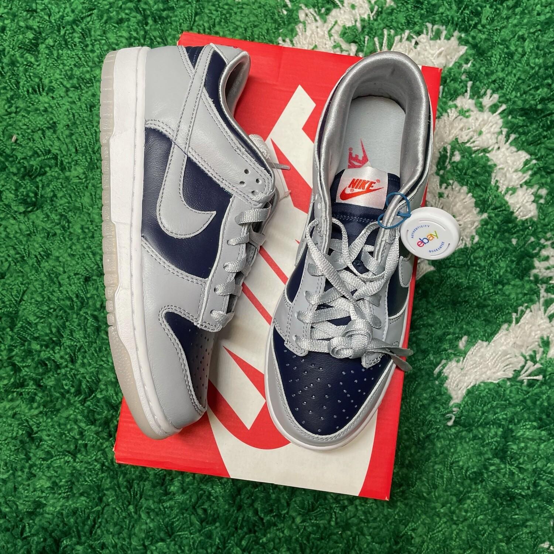 Nike Dunk Low College Navy Grey Size 6.5/8(w)