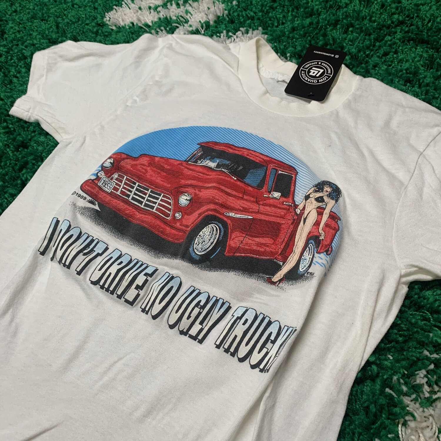 I Don't Drive No Ugly Truck Tee Size Small