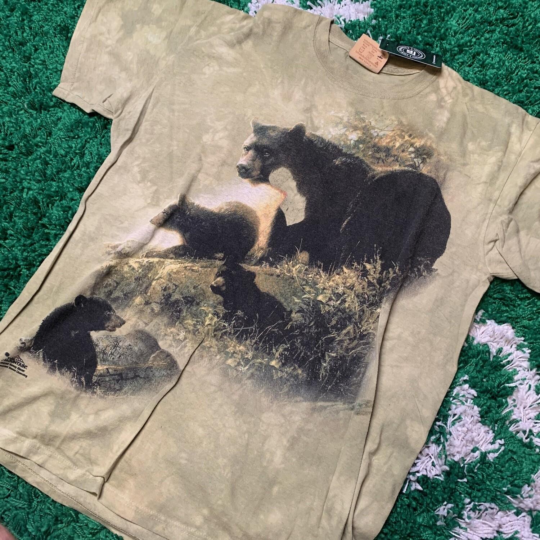 Cool Vintage Bear Shirt AOP Size Large