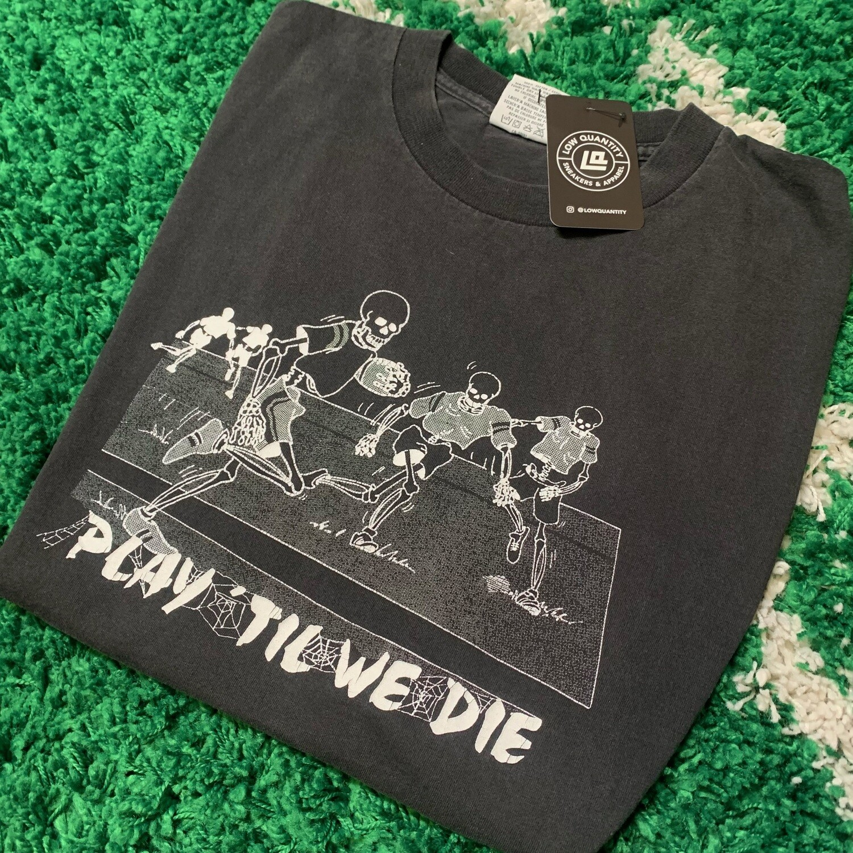 Football Play Til We Die Shirt Size XL