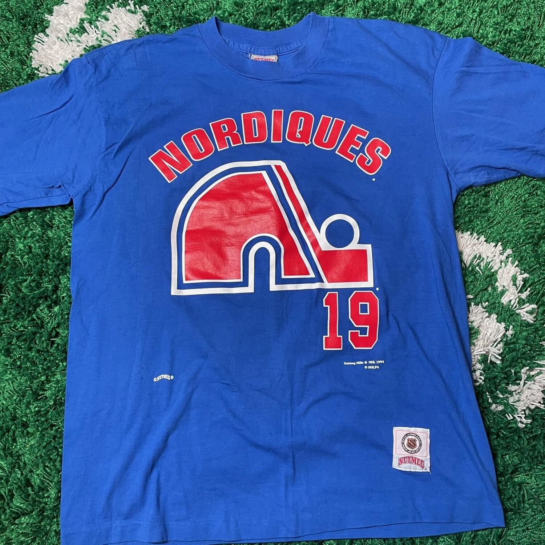 Quebec Nordiques Sakic Shirt Size Large