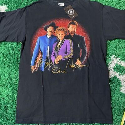 Reba, Brooks & Dunn Tour 1997 Tee Size Large