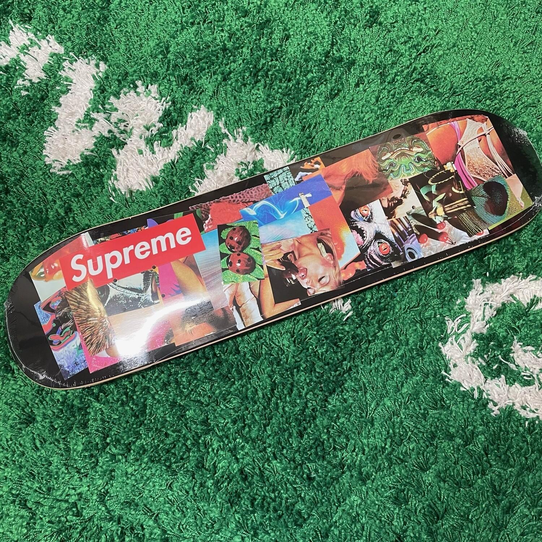 Supreme Stack Skateboard Deck Black