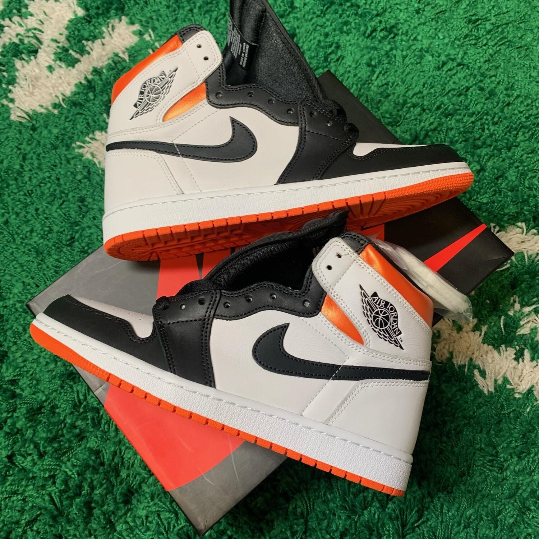 Air Jordan 1 Retro High Electro Orange Size 10