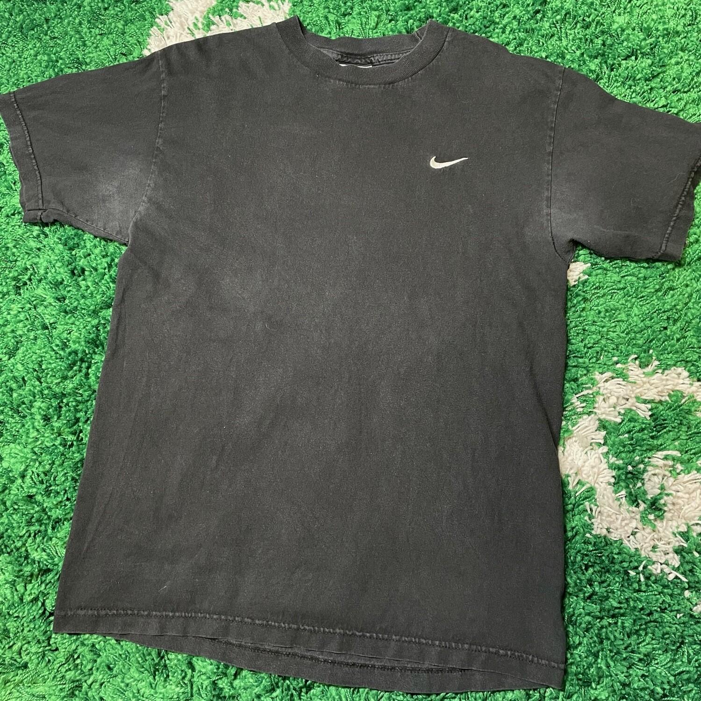 Nike Pocket Logo Tee Black Size Medium
