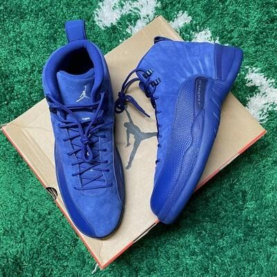 Air Jordan 12 Retro Deep Royal Blue Size 13