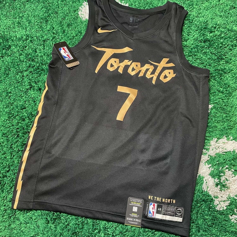 Toronto Raptors Kyle Lowry OVO swingman Jersey Size Large