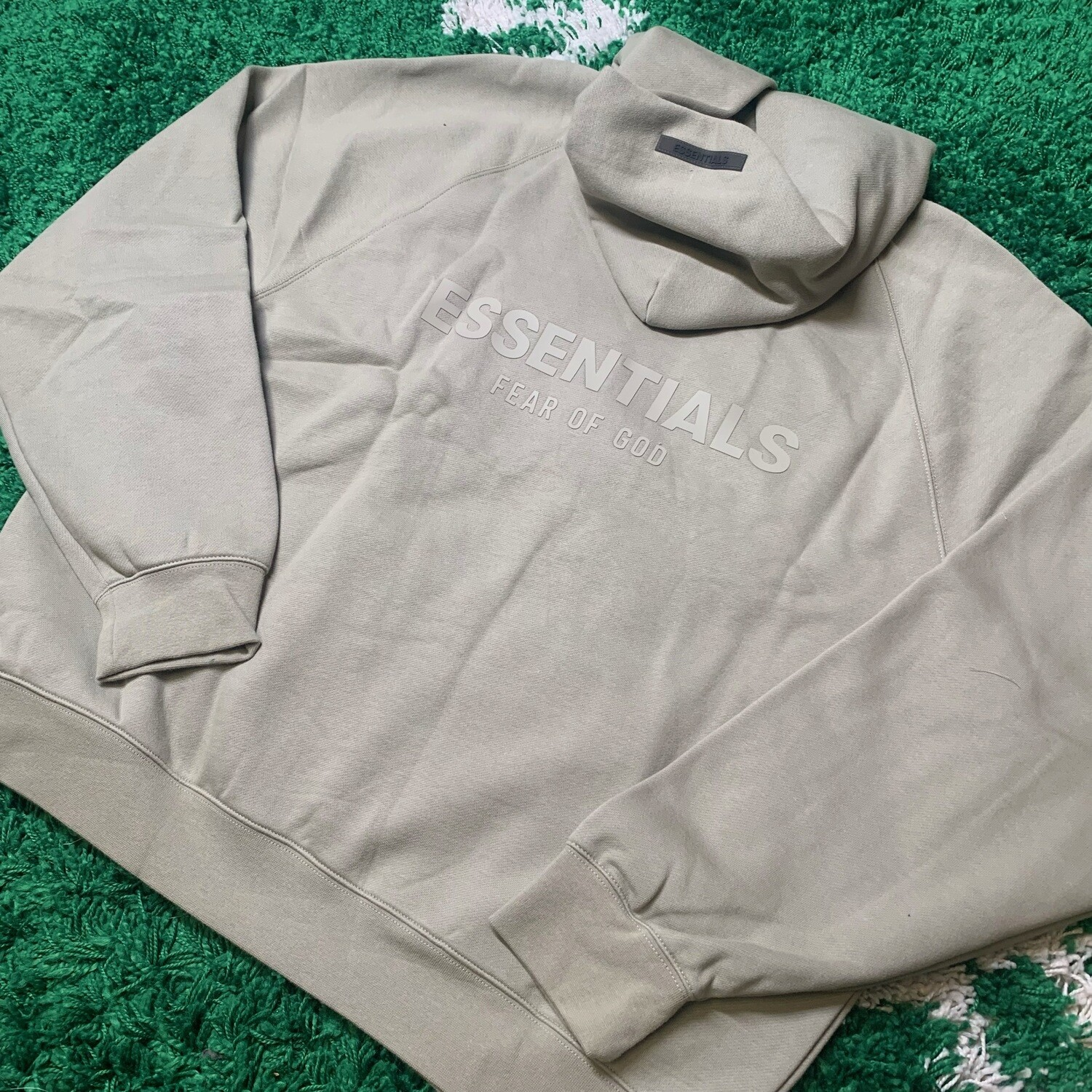 Fear of God Essentials Pullover Hoodie Pistachio Size Large