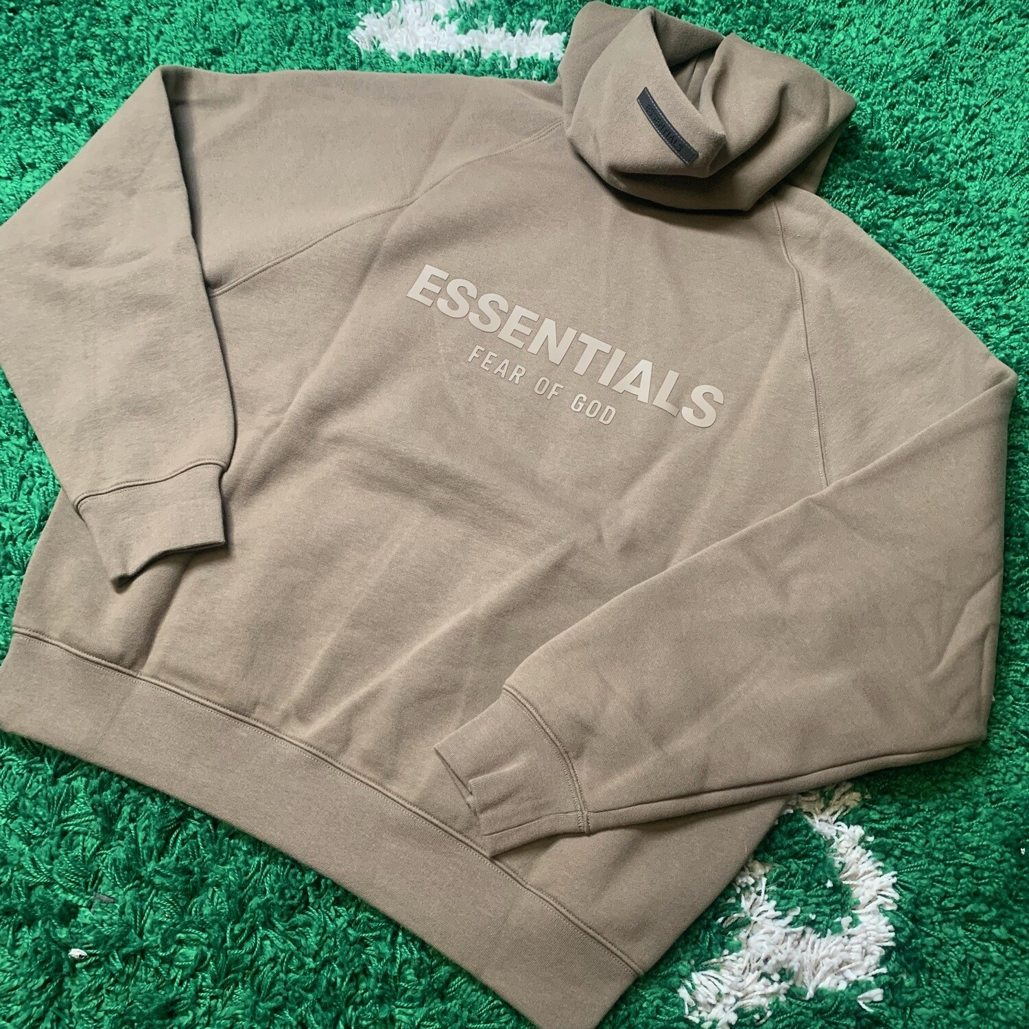 Fear of God Essentials Pullover Hoodie Harvest Size Large