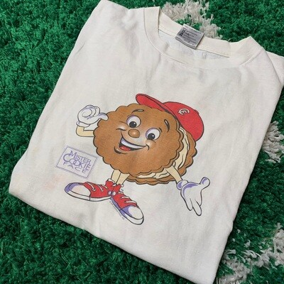 Mister Cookie Face Tee Size Large
