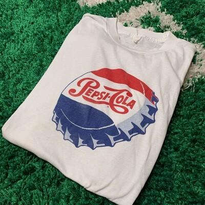 Pepsi-Cola 80's Logo Tee Size Medium