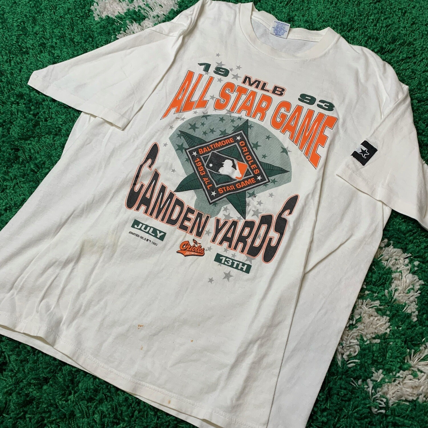 Baltimore Orioles 1993 All Star Game Size Large