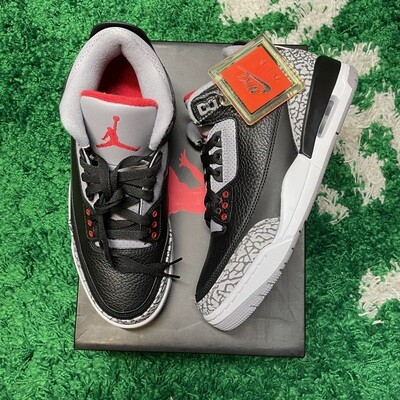 Air Jordan 3 Retro Black Cement (2018) Size 8