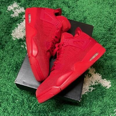 Air Jordan 4 Retro Flyknit Red Size 10