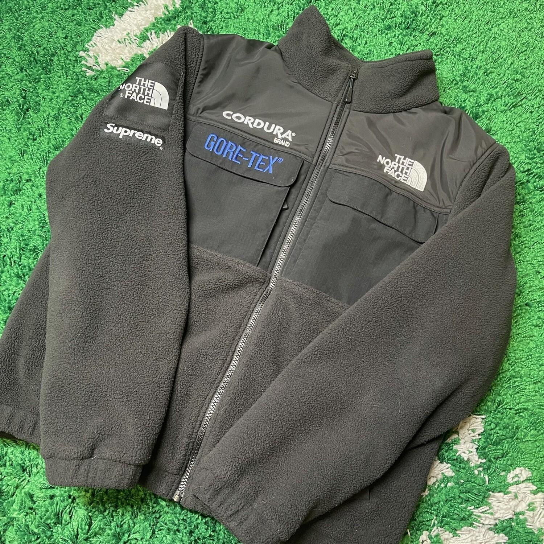 Supreme The North Face Expedition Fleece (FW18) Jacket Black Size Medium
