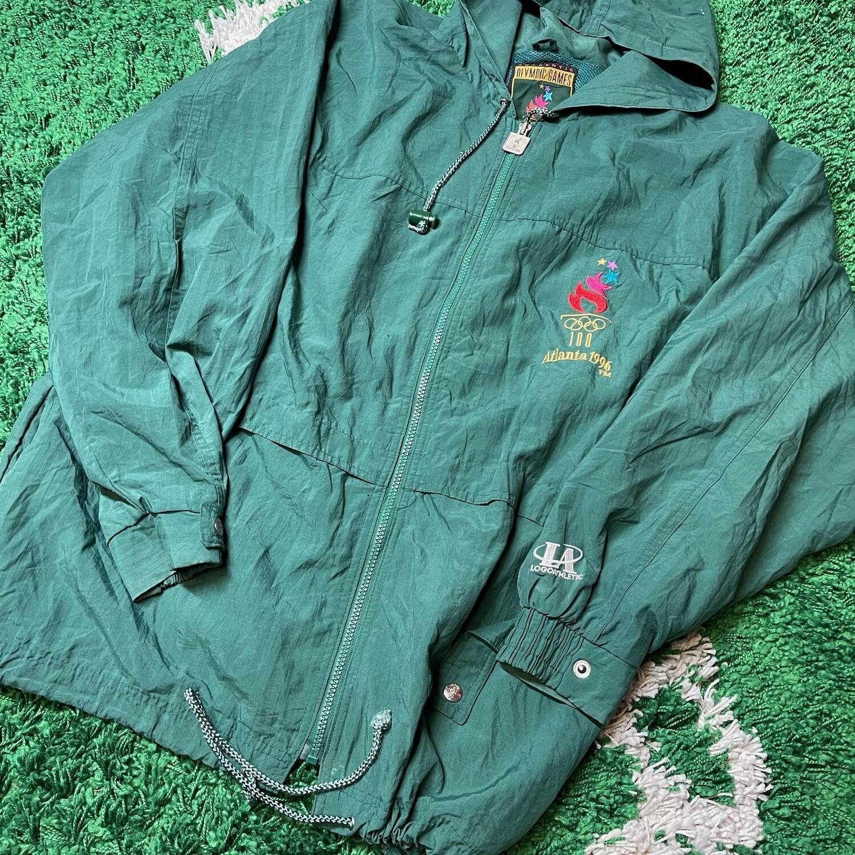 Olympic Games Atlanta 1996 Jacket Size Large