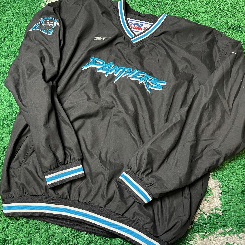 Carolina Panthers Pullover Jacket Size XXL