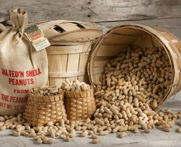 Roasted Virginia Peanuts (no salt)  2 pound bag