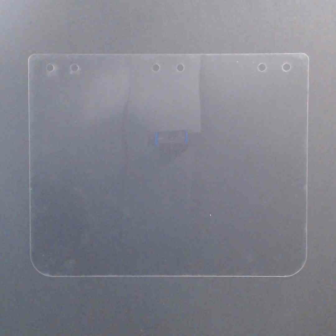 """Clear Visor - Polyester 0.005"""" (100 Pack)"""