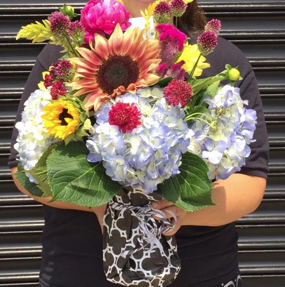 $100 Seasonal Fresh Flower Arrangement