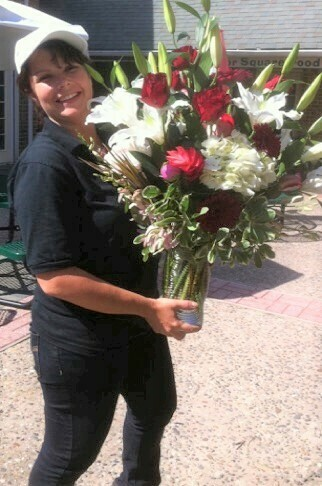 $350 Seasonal Fresh Flower Arrangement