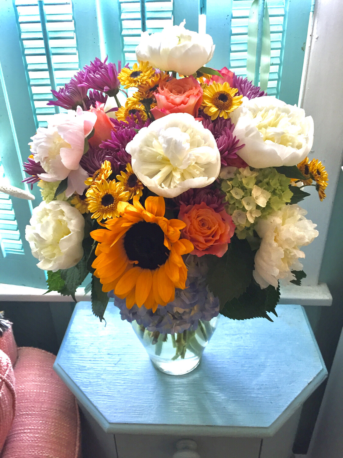$150 Seasonal Fresh Flower Arrangement