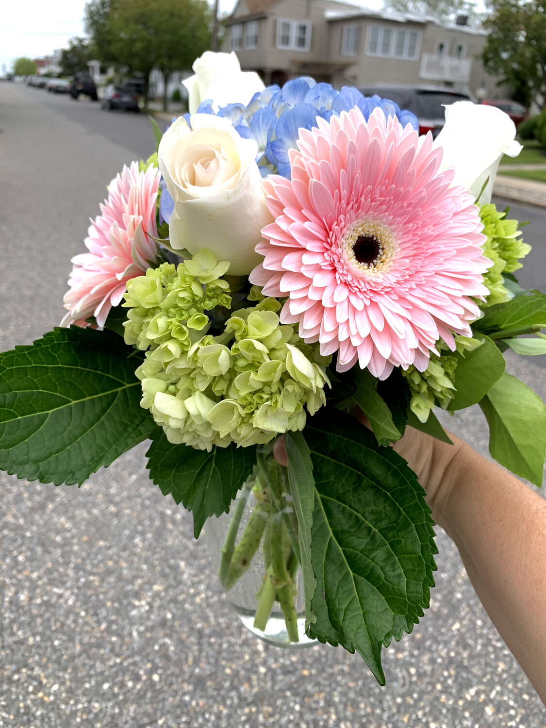 $50 Mother's Day Fresh Flower Vase Arrangement
