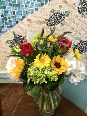 $80 Seasonal Vase Arrangement