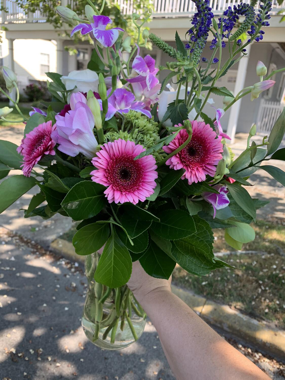 $70 Mother's Day Fresh Flower Vase Arrangement