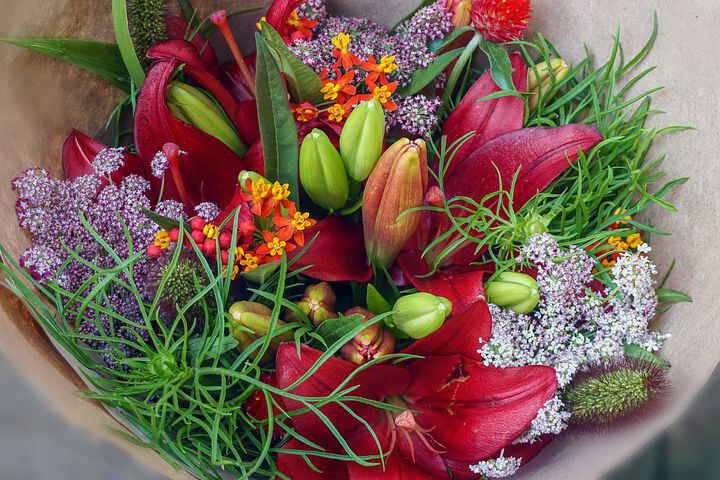 $100 Weekly Wildflower Bouquet - Weekly Farm Share of Wildflowers Delivered to Stone Harbor or Avalon