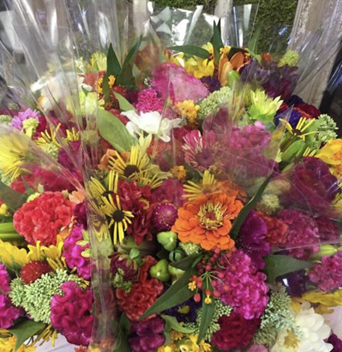 $50 Weekly Wildflower Bouquet - Weekly Farm Share of Wildflowers Delivered to Stone Harbor or Avalon