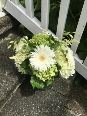 $50 Seasonal Fresh Flower Vase Arrangement