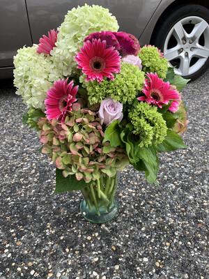 $175 Seasonal Fresh Flower Arrangement