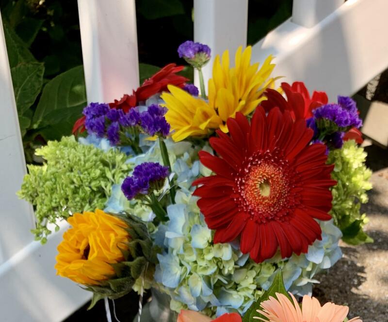 $45 Seasonal Fresh Flower Vase Arrangement