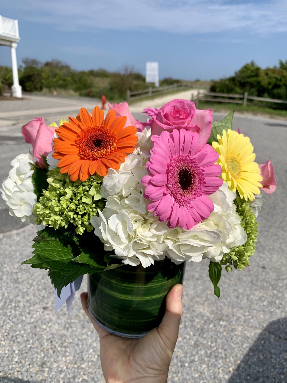 $75 Seasonal Fresh Flower Vase Arrangement