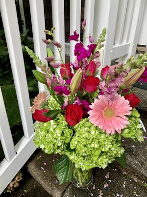 $200 Seasonal Fresh Flower Arrangement