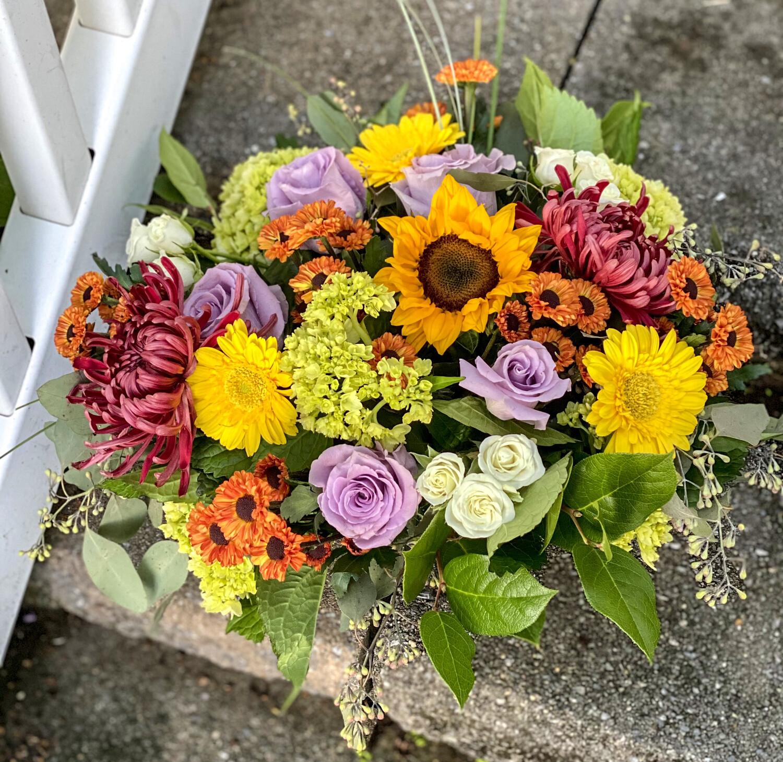 $125 Seasonal Fresh Flower Arrangement