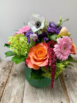 $65 Seasonal Fresh Flower Vase Arrangement